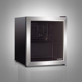 Koelkast RVS en glas | 43L | (H)51x(B)43x(D)46