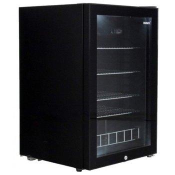 Koelkast met stalen frame | zwart | 122L | (H)84,5x(B)54x(D)54