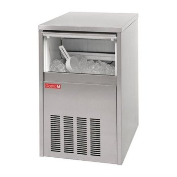 IJsblokjesmachine Gastro M | holle ijsblokjes | 40kg/24u | 16kg bunker