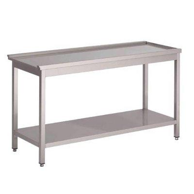 Aan/afvoertafel  - voor 50x50 korven - 80cm