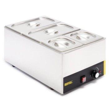 Bain marie - 1/1GN - 150mm diep - compleet met bakken