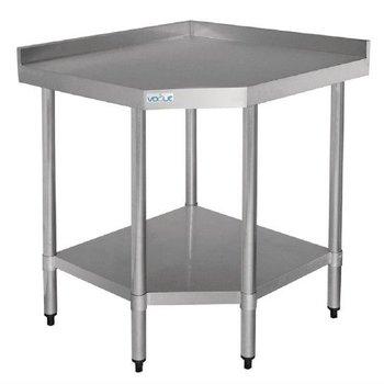 Werktafel flat-pack - hoekmodel - (B)80x(D)70
