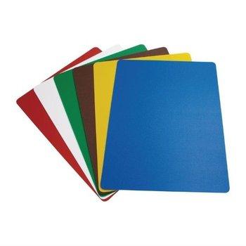 Flexibele snijmat - set 6 kleuren - 30x45cm
