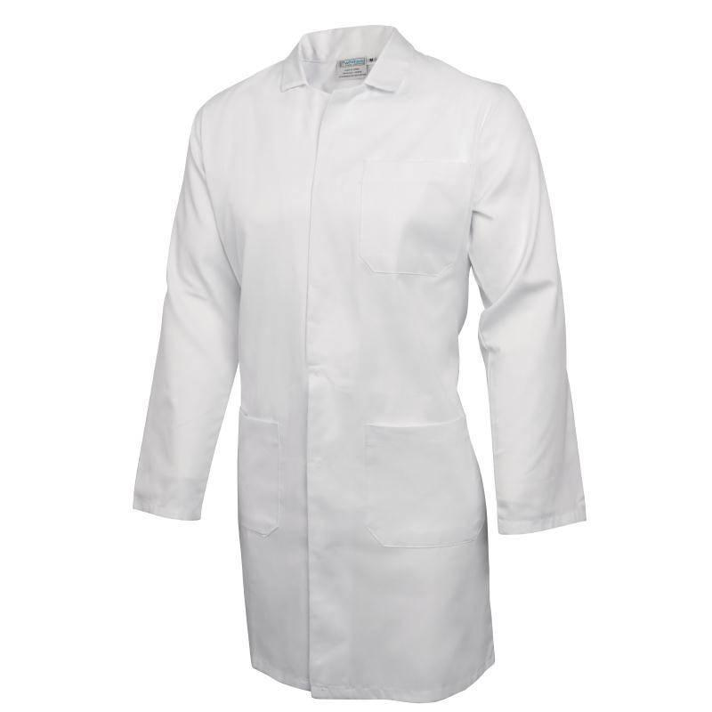 Whites Werkjas wit unisex - S-XL