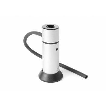 Rookapparaat aluminium - met 30cm slang
