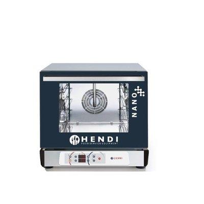 Heteluchtoven Digitaal | Nano | Met luchtbevochtiger | 4x 450x340mm trays