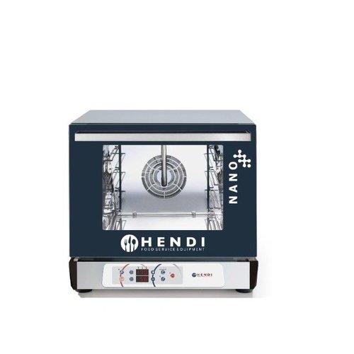 Hendi Heteluchtoven Digitaal | Nano | Met luchtbevochtiger | 4x 450x340mm trays