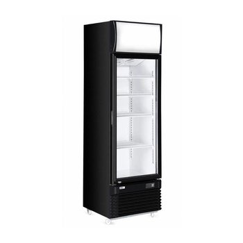 Display koelkast met lichtbak | 360L | (H)196,5x(B)62x(D)66,9