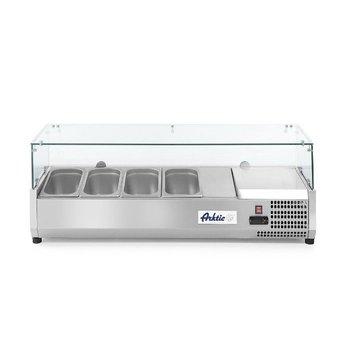Opzetkoelvitrine Kitchen Line | 4x 1/3GN | (H)43x(B)120,5x(D)39,5