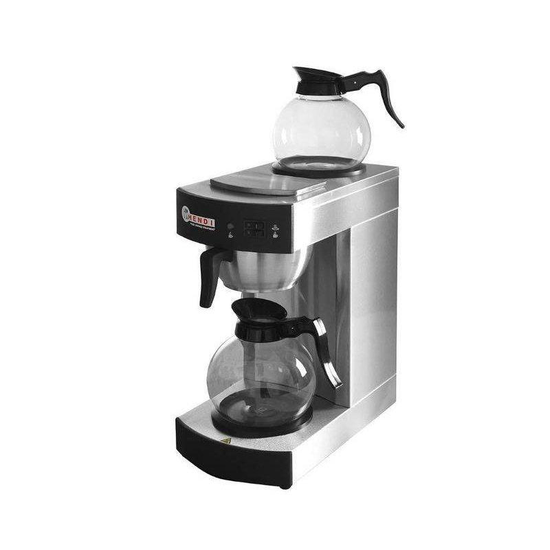Hendi Koffiezetapparaat Kitchen - 1,8 Liter - Inclusief 2 kannen en 50 filters