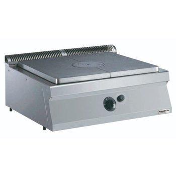 Kookplaatunit Pro Line | Gas | (H)25x(B)80x(D)70