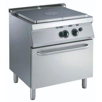 Kookplaatfornuis | met gasoven | (H)85x(B)80x(D)70