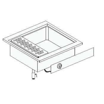 Elektrische pastakoker | Drop-In | (H)33,1x(B)40x(D)60