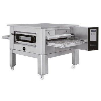 Lopende band oven | tot 180 pizza's per uur | 24,4kW | inclusief onderstel
