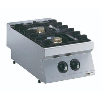 Kooktoestel Aardgas | 2 Pits | 2x5,5kw