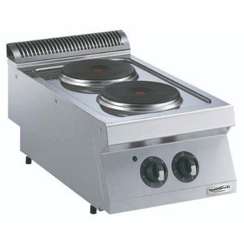 Kooktoestel Elektrisch | 2 platen | Ø23cm