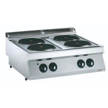 Kooktoestel Elektrisch | 4 platen | Ø23cm