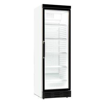 Koelkast met glazen deur | 382L | (H)200x(B)59,5x(D)65