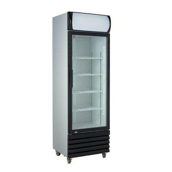 Display koelkast | Glazen deur | 360L | (H)197,3x(B)61x(D)61cm