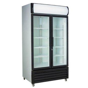 Display koelkast | Glazen deuren | 670L | (H)197,3x(B)1120x(D)61cm