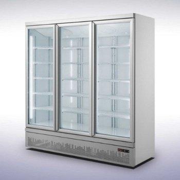 Koelkast met 3 glazen deuren | Side-by-side | 1530L | (H)199,7x(B)188x(D)71cm