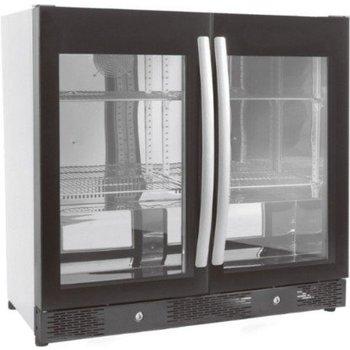 Barkoeling met glasdeuren | 198L | (H)84x(B)90x(D)50