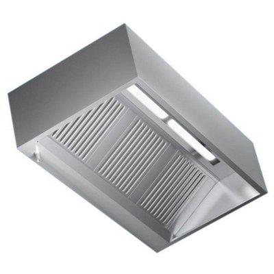 Afzuigkap doosmodel | Met verlichting | Zonder motor | (B)160x(D)110(H)45