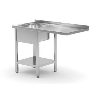 RVS vaatwasser tafel op maat