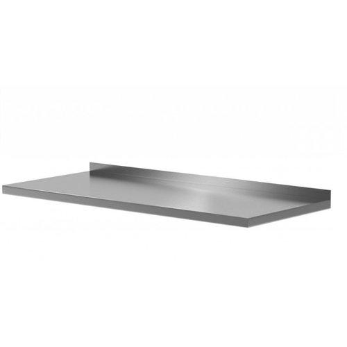 Werkblad met spatrand | Breedte 400-2800mm | Diepte 600-700mm | 50 opties