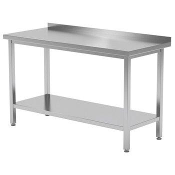 Werktafel met onderblad en spatrand | Breedte 400-1900mm | Diepte 600-700mm | 32 opties