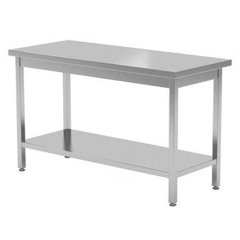 Centrale werktafel met onderblad | Breedte 800-1900mm | Diepte 700-800mm | 24 opties