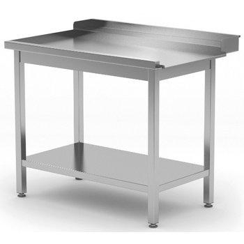 Afvoertafel met onderblad | Links van machine | Breedte 800-1400mm | Diepte 700-760mm | 14 opties
