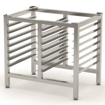 RVS onderstel voor oven | Breedte 830 | Diepte 585mm | 700mm