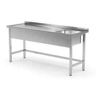 RVS spoeltafels / vaatwasser tafels