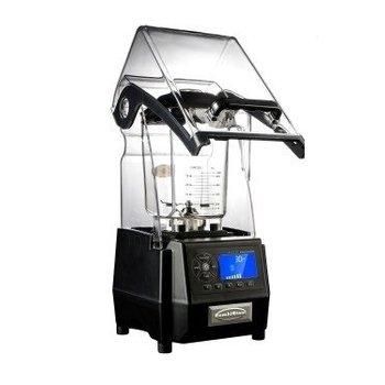 Power blender met geluiddempende kap - 2 liter