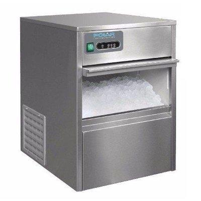 IJsblokjesmachine Polar   holle ijsblokjes   20kg/24u   4kg bunker