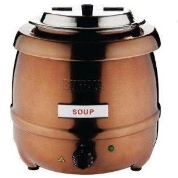 Soepketel - koper - 10 L