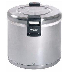 Bartscher Rijst warmhouder RVS elektrisch - 8,5kg rijst - 20L inhoud