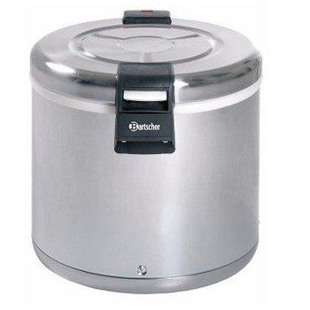 Rijst warmhouder RVS elektrisch - 8,5kg rijst - 20L inhoud