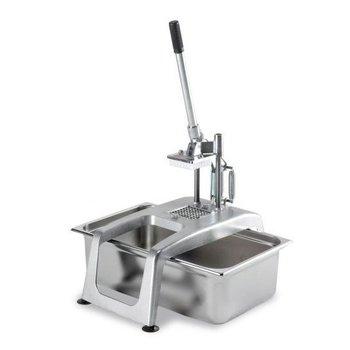 Fritessnijder tafelmodel met zuignappen 10x10mm