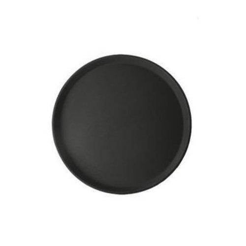Antislip dienblad rond - zwart Ø 27,5cm
