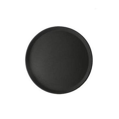 Antislip dienblad rond - zwart Ø 35,5cm