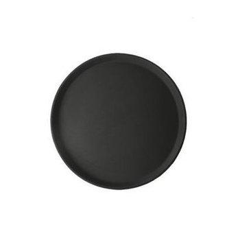 Antislip dienblad rond - zwart Ø 45cm