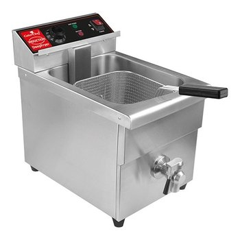 Inductie friteuse CaterChef - 8 liter + tap