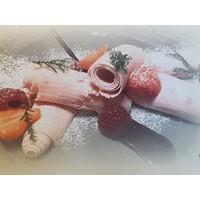 CaterCool IJs teppanyaki - CaterCool | met garneerunit en onderkoeling | (H)86,5x(B)109x(D)72cm