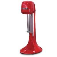 Roband Milkshake mixer - incl 3 opzetstukken (voor extra dik of extra luchtig) - rood
