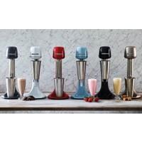 Roband Milkshake mixer - incl 3 opzetstukken (voor extra dik of extra luchtig) - blauw