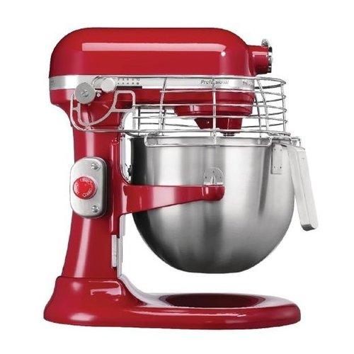 Kitchenaid Professionele keukenrobot mixer - rood - 6,9L