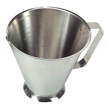 Maatbeker rvs 0,5 liter