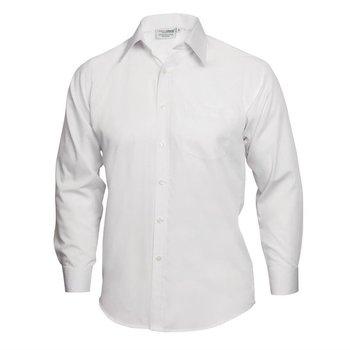 Overhemd met lange mouw wit | Unisex | Maat S-XL